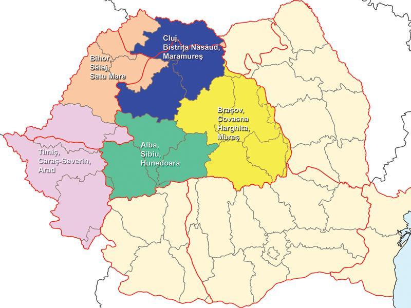 Impărţirea Administrativ Teritorială A Romaniei Comentată La Cluj